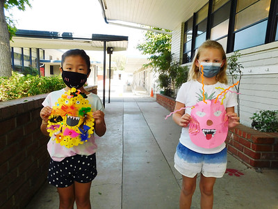 Students Craft Cultural Masks