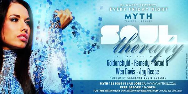Soul Therapy @ Myth Taverna & Lounge 11.22.13