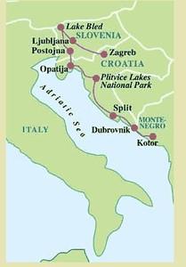 Croatia and Slovenia Maps