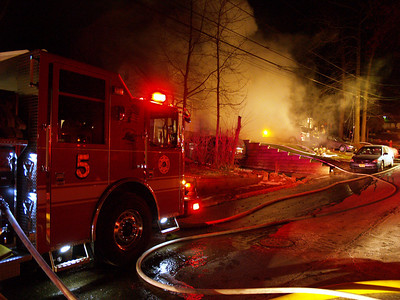01-10-10 Hackensack, NJ - 3rd Alarm