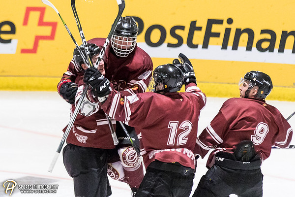Elite A Junioren - Spiel 2: Genève Futur Hockey - GCK Lions