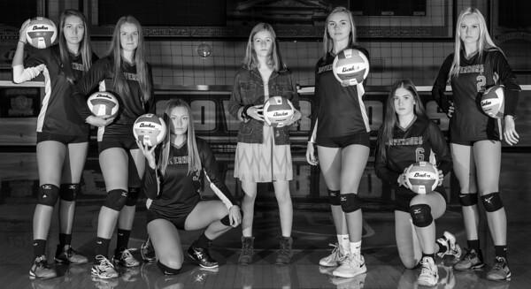2020 Governor Volleyball Seniors