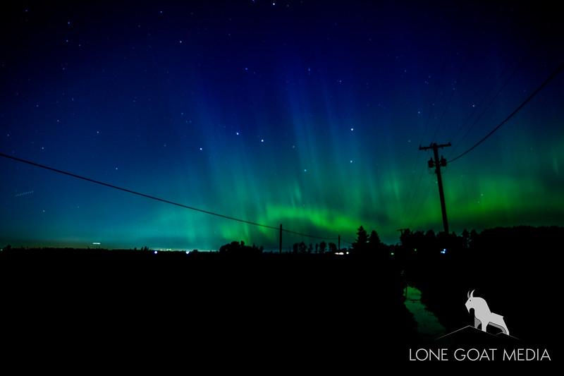 Northern Lynden Aurora Borealis