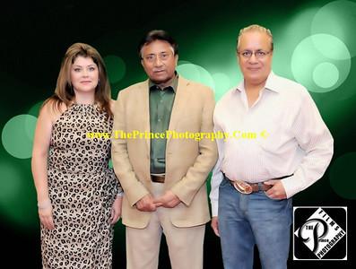 """APML Dallas Dinner wtih President Pervez Musharraf Portraits"