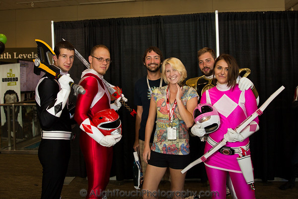 Power Rangers at PAX Prime 13