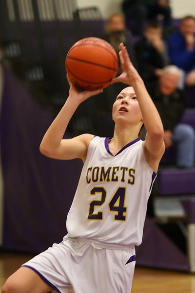 Basketball gjv vs. Schoolcraft - KCHS - 1/12/17