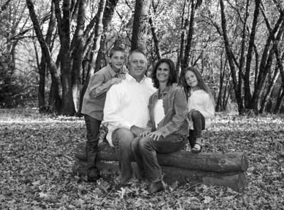 Nissen Family Black and White