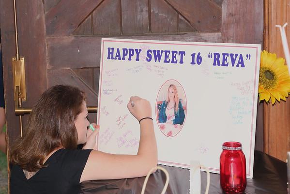 Reva's Sweet 16