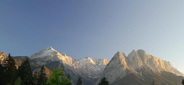 Garmisch and Munich
