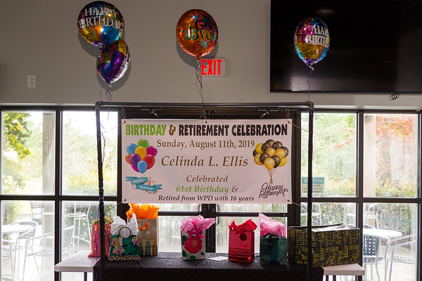 Celinda Ellis' Retirement/Birthday Celebration 2019