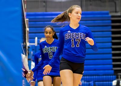 2018 9th Grade Volleyball vs Central
