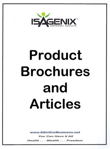 Product Brochures and Articles