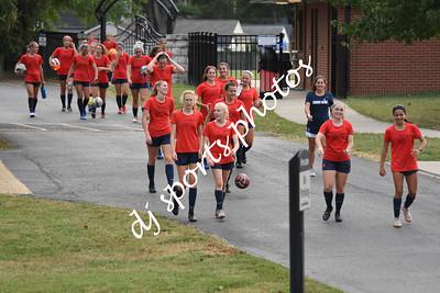 2019-09-25 SHA Varsity Girls vs SOHS Soccer