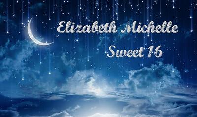 Elizabeth Michelle Castillo Sweet 16 B-day
