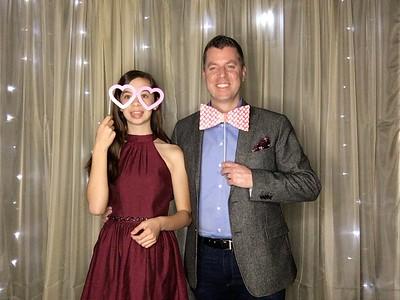 Castillero Father Daughter Sweetheart Dance 2020
