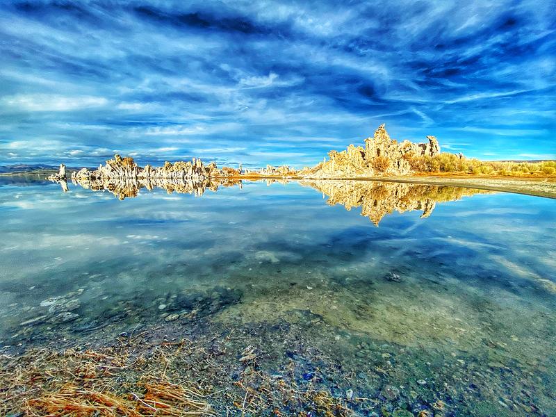 Mono Lake, California in the Eastern Sierras
