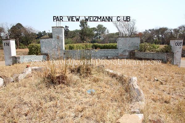 ZIMBABWE, Bulawayo. Parkview Weizmann Sports Club (8.2012)