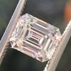 1.83ct Vintage Emerald Cut Diamond GIA F VVS2 1