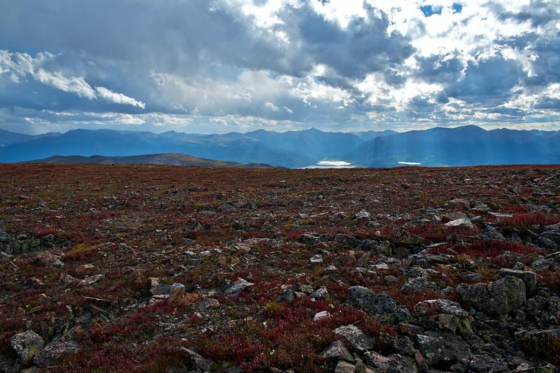 Twin Lakes and Sawatch Range