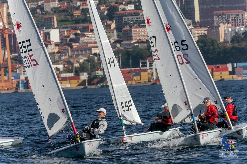 2018-10-09 · Day 3 · Vigo Laser Masters European Championship · 0492.jpg
