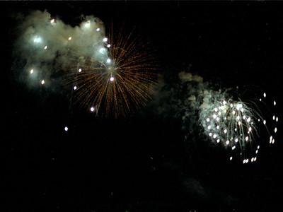 1983 Detroit fireworks