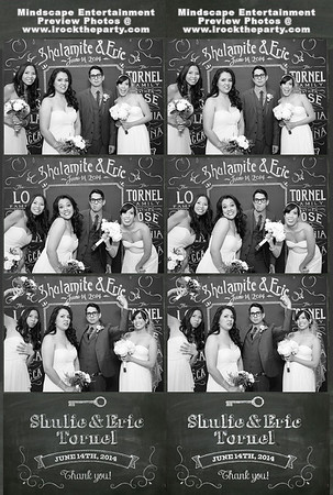 Shulie & Eric Tornel's Wedding - Photo Booth Pictures