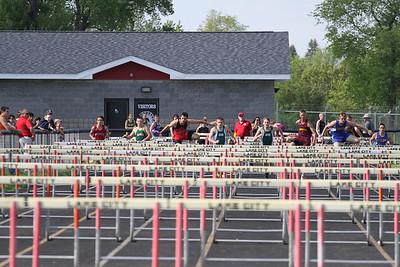 2013 MHSAA Highland Conference Boys 110 Meter Hurdles