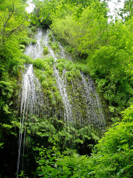 The Columbia River Gorge has the highest concentration of waterfalls in the Pacific Northwest.