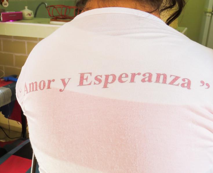 Amor y Esperanza -- Love and Hope