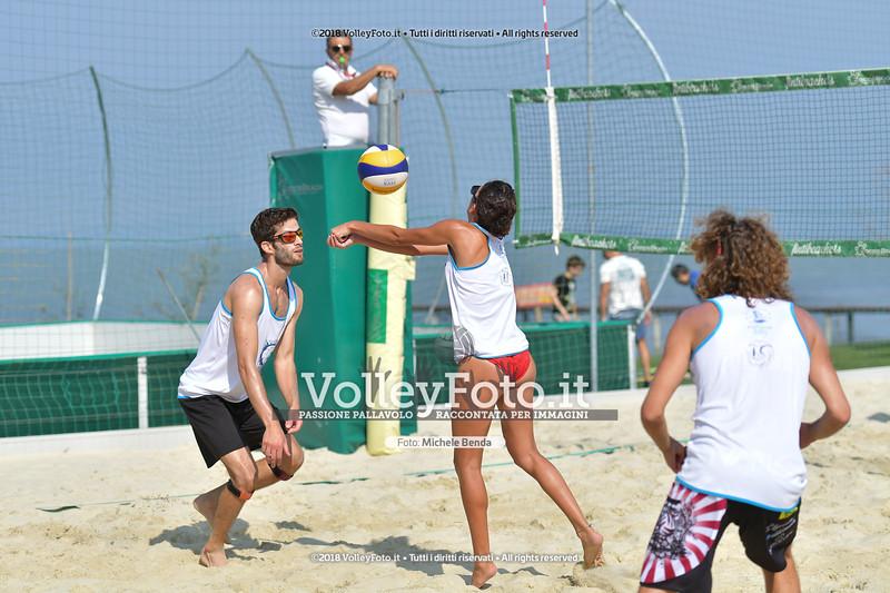 presso Zocco Beach PERUGIA , 25 agosto 2018 - Foto di Michele Benda per VolleyFoto [Riferimento file: 2018-08-25/ND5_8414]
