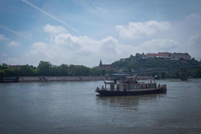 Day 6 - when we woke up we were in Novi Sad, Serbia