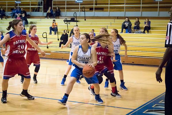 DHS Girls Basketball 12-01-2016