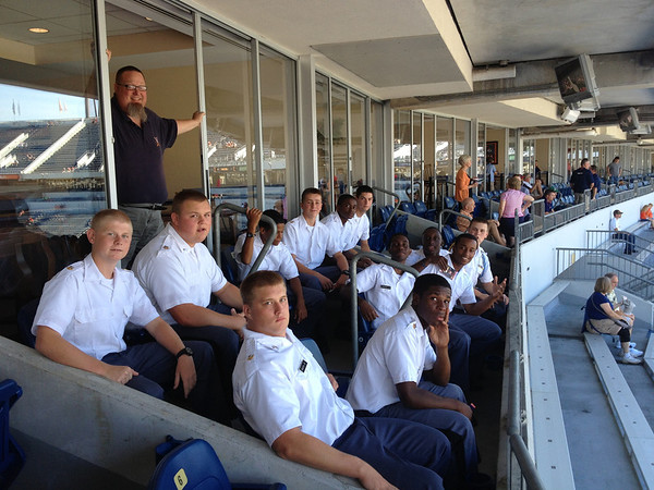 Cadets Attend UVa Football Game