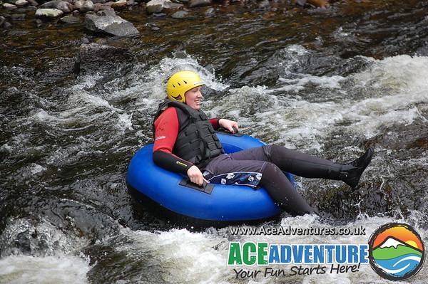 11th June 2013 River Tubing, River Findhorn