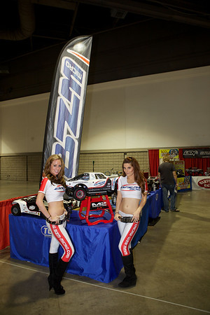 BZM Booth Girls - RCX 2012 Long Beach