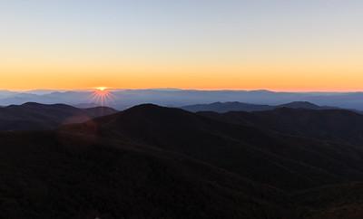 Blue Ridge Mountians 2015