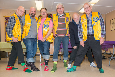 Ajax Lions - Crazy Socks night and Socks Donation