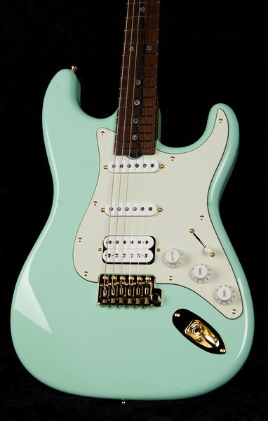 25th Anniversary NOS Retro #3794, Surf Green, Grosh S/S/H Pickups New Blown 79 Bridge