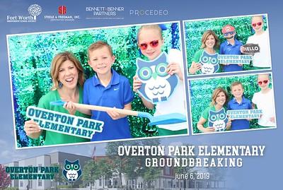 Overton Park Elementary Ground Breaking 6-6-19
