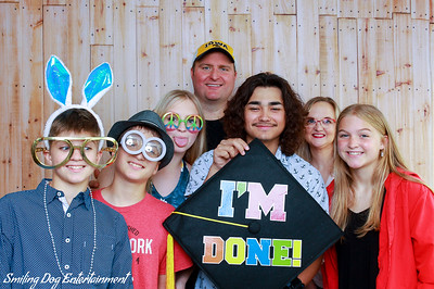 Kaiden's Graduation Party Photo Booth Images