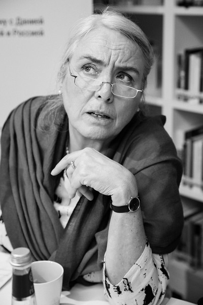 Director of the Danish Cultural Institute in St. Petersburg Marie Birgitte Tetzlaff. Saint Petersburg, 2019.