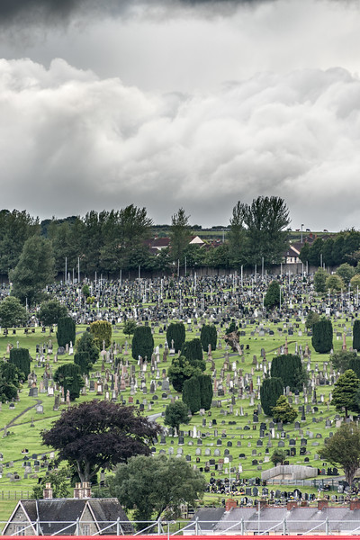Derry City Cemetery - Derry, Northern Ireland, UK - August 17, 2017