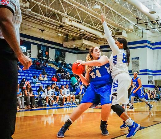 Lady Panthers Varsity vs  Weatherford 01-12-16-25