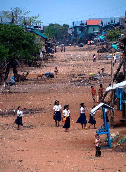 Kompong Phluck, Tonle Sap lake, Cambodia