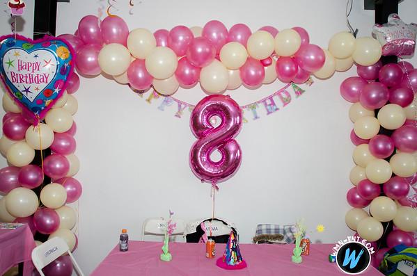FATIMA 8TH BIRTHDAY