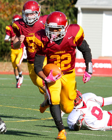 Football VISSA Bishop Ireton vs St. Christophers