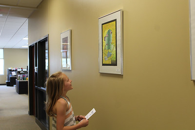 VIP Elementary Traveling Art Exhibit