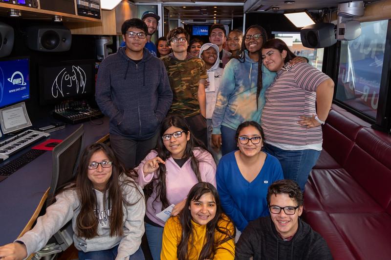 2019_02_01, Bus, CA, Interior, OWC, Pomona, Pomona High School, Steven Meloney