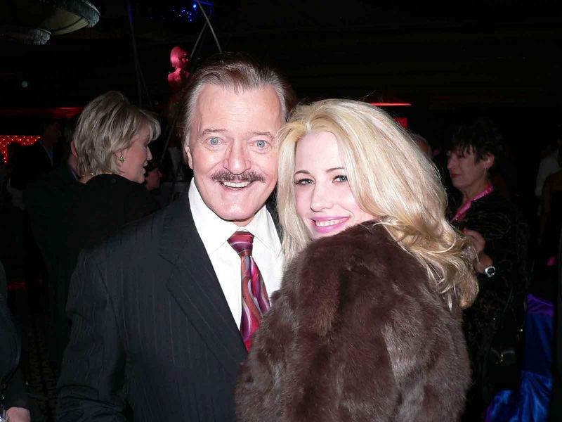 Robert Goulet and Natasha