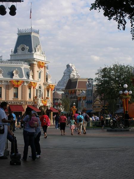 Disneyland October 2007